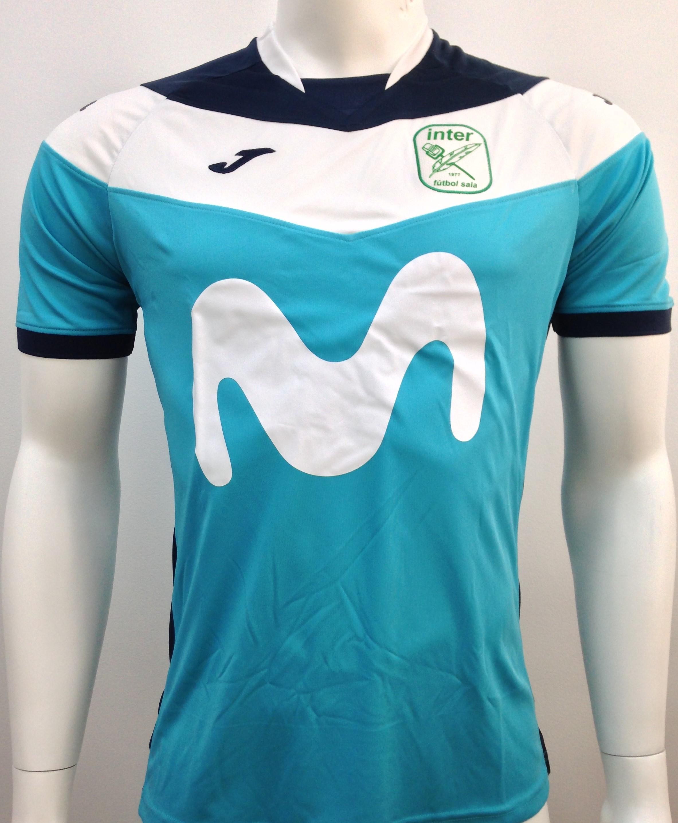 Camiseta Calentamiento 2018 2019 - Tienda Oficial InterMovistar Futbol Sala ac2a1623735ac