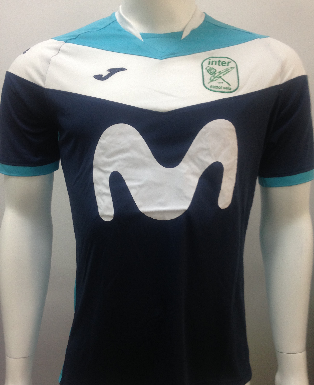 Camiseta Entreno 2018 2019 - Tienda Oficial InterMovistar Futbol Sala 9e83d7df7c491