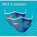 Mascarilla Higiénica Reutilizable Pack 2 (UNI)